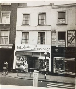 Photo:My father's shop at 301 Edgware Road