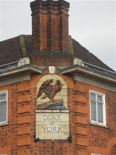 Photo:Duke of York sign