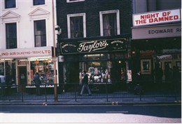 Photo:Taylor's shop at 317 Edgware Road