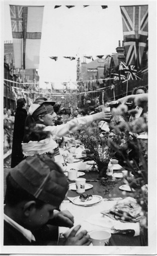 Photo: Illustrative image for the 'Ranston Street Coronation Street Party 1953' page
